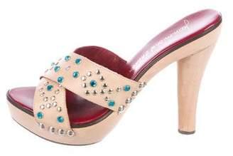 Jean-Michel Cazabat Pamela Studded Sandals