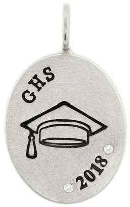 Heather B Moore Personalized Graduation Charm - Sterling Silver