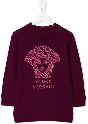 Versace Medusa logo sweater