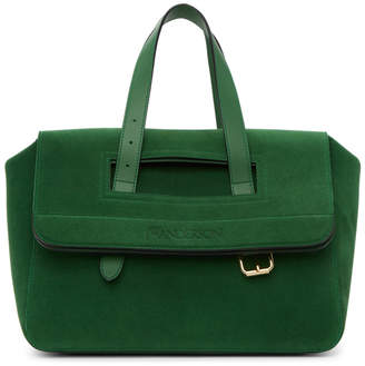 J.W.Anderson Green Suede Tool Bag