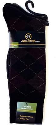 Gold Toe Gt a Goldtoe Brand GT by Men's Argyle Socks, 3-Pack