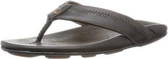 OluKai Hiapo Men's Sandal (Teak/Teak) Size 10-10