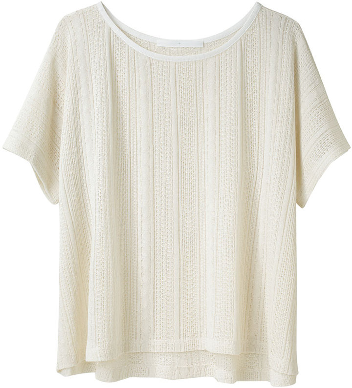 Thakoon Addition / Pointelle Knit Tee