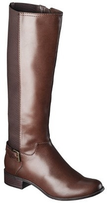Merona Women's Kimberely Riding Boots - Brown