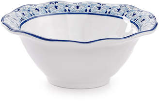 "Q Squared Talavera Azul 6.5"" Cereal Bowl, Set of 4"