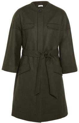Cefinn - Wool-blend Coat - Army green