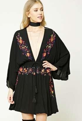 FOREVER 21+ Contemporary Embroidery Dress $27.90 thestylecure.com