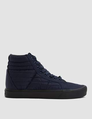 Vans Quilted SK8-Hi Reissue Lite Sneaker in Dress Blues/Black