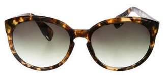 Dita Tortoiseshell Gradient Sunglasses