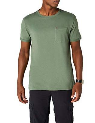096936f0 at Amazon.co.uk · Tommy Jeans Men's Detail Pkt Knit Short Sleeve Crew Neck T -Shirt,Large