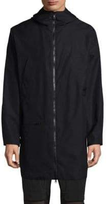 Y-3 Back Overlay Long Jacket