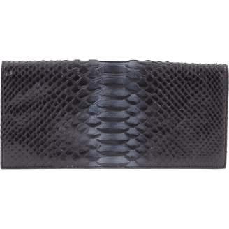 Christian Dior Python Clutch Bag