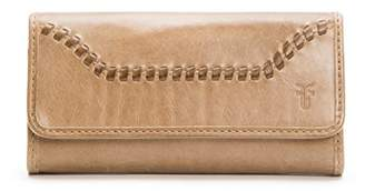 Frye Women's Melissa Continental Whipstitch Snap Wallet
