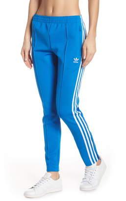 adidas Blue Women's Athletic Pants ShopStyle