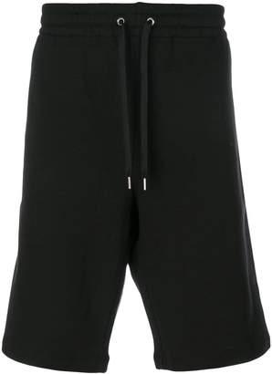 Versace logo track shorts