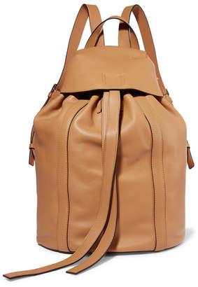 Loewe Small Leather Backpack - Beige