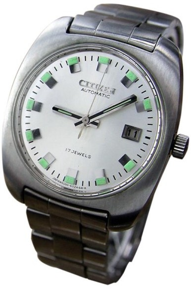 CitizenCitizen Automatic Japanese Stainless Mens 1970 Watch