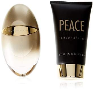 YOUNG AND GIFTED Peace Set EDP Spray/Body Lotion, 100 ml/150 ml