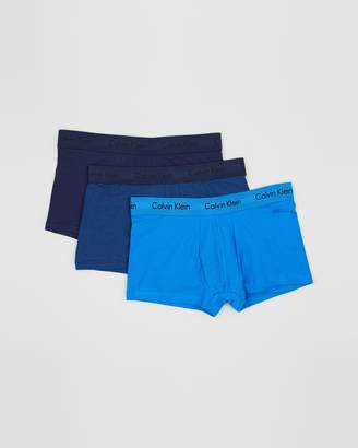 Calvin Klein Cotton Stretch Low Rise Trunks - 3-Pack