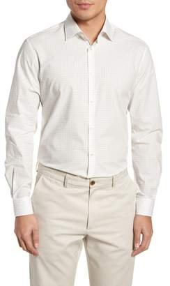John Varvatos Regular Fit Diamond Dress Shirt