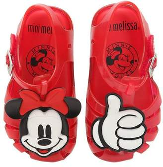 Mini Melissa Scented Minnie Mouse Rubber Sandals