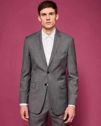 Ted Baker STRONGJ Slim fit plain wool suit jacket