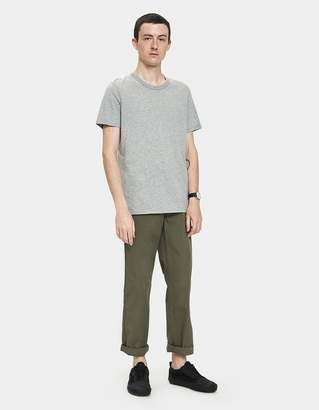 Norse Projects Aros Light Twill Pant in Dried Olive