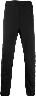 Just Cavalli quilted panel trousers