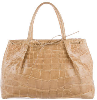 Jimmy Choo Jimmy Choo Crocodile Handle Bag