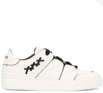 Ermenegildo Zegna XXX contrast stitch sneakers