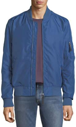 Slate & Stone Men's Wind-Resistant Bomber Jacket