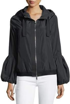 Moncler Fume Long-Sleeve Poof Jacket w/ Hood