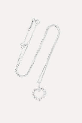 Chopard L'heure Du Diamant 18-karat White Gold Diamond Necklace