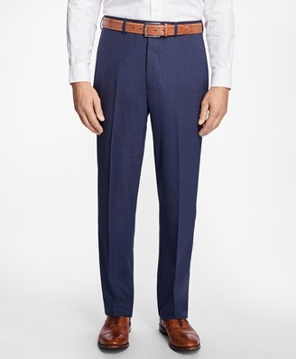 Brooks Brothers Madison Fit BrooksCool Houndstooth Trousers