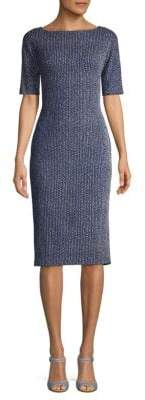 Maggy London Birdseye Sheath Dress