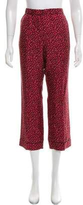 Piamita High-Rise Silk Pants w/ Tags