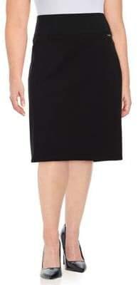 Calvin Klein Plus Knit Pencil Skirt