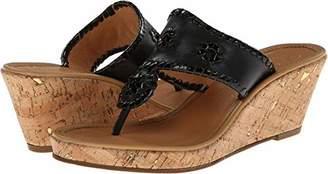 Jack Rogers Women's Marbella Mid Wedge Sandal