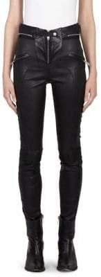 Taverniti So Ben Unravel Project Zipped Moto Pants