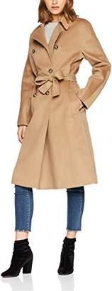 Tommy Hilfiger Women's Carmen Df Wool Trench Coat