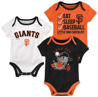 Outerstuff San Francisco Giants Play Ball 3-Piece Set, Infants (0-9 Months)