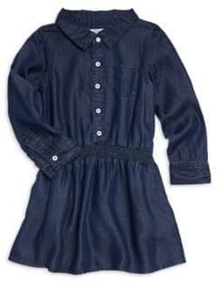 DL Premium Denim Toddler's& Little Girl's London Cinched Waist Dress