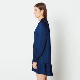 Sandro Short dress with little ruffles