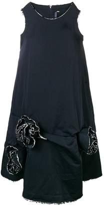 Comme des Garcons rose detail sack dress