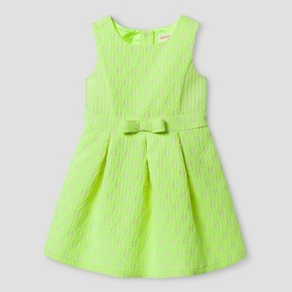 Cat & Jack Toddler Girls' A Line Dress Superb Yellow $23.99 thestylecure.com