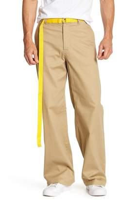 Perry Ellis Wide Leg Chino Pants