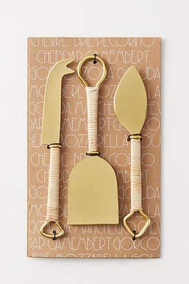 Anthropologie Mikata Cheese Knives, Set of 3