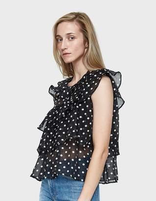 Stelen Sofia Sleeveless Blouse in Black