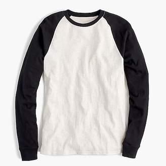 J.Crew Slub jersey baseball T-shirt