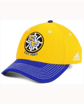 adidas Golden State Warriors Duel Logo Flex Cap